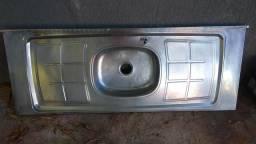 Bacia alumínio cozinha 1.5m