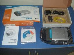 Roteador D-Link DI-LB604 com 2 WAN (internet) e 4 portas LAN
