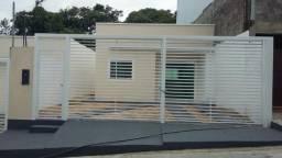 Casa Financiada Pronta para Morar 7,5 x 20 150m2 última casa corre Cj. Aguas Claras