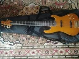 Contrbaixo - samick custom pro shop bass 6