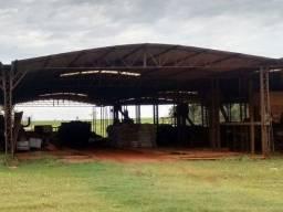 Barracão - Estrutura Metálica 467M²