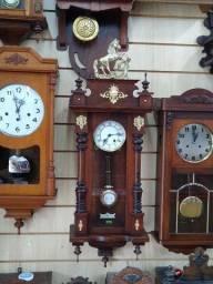 Relógios alemães coloniais Lenzkirch, Duas Setas, Junghans,etc