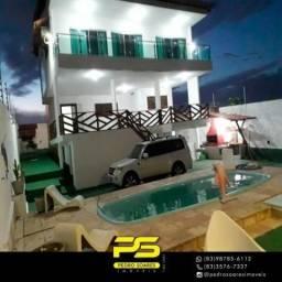 Casa com 5 dormitórios à venda por R$ 600.000 - praia de Tabatinga - Conde/PB