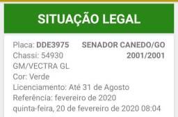 Vectra GL completo carro de São Paulo zero aceita troca R6MOTORS - 2001