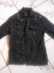 Jaqueta jeans masculina Versace para Riachuelo