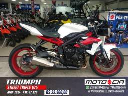 Triumph Street Treiple 675 - 2014 - 2014