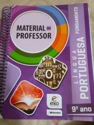 Livro 9° Ano ' Saraiva' - Material Do Professor Com Respostas - Língua Portuguesa -
