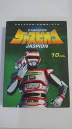 BOX DVD JASPION + 3 QUEBRA CABEÇAS DA SÉRIE