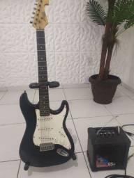 Guitarra Memphis e amplificador
