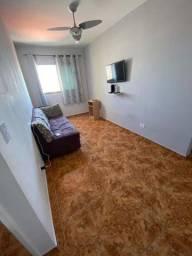 Apartamento de 1dormitorio, sem mobília na Ocian  prédio com elevador e 1 vaga de auto