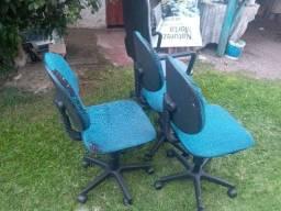 4 Cadeiras escritório