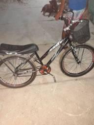 Bike aro 24 tudo Novo só pega é andar