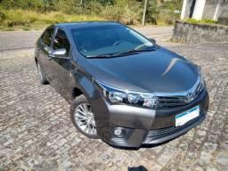 Toyota Corolla xei 2.0 flex automático 2015 cinza