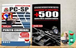 Apostila Polícia Civil Pc Sp Perito Criminal Concurso 2020 Nova e Lacrada com Brinde