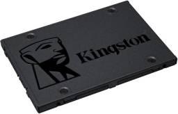SSD A400, Kingston, SA400S37/240G, Cinza