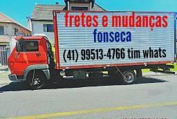 Fretes mudanças carretos e viagens. (41). 99513.4766 Fonseca ligue.
