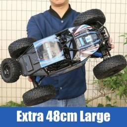 Usado O Maior 50cm Carrinho De Controle Remoto Monstro 4x4
