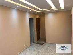 Ótimo Apartamento com 2 dormitórios para alugar, 67 m² por R$ 1.000/mês - Barreto - Niteró