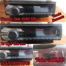?Pioneer 1580 Ub<br>?Cd mp3 usb aux<br>?Valor 300,00<br>?33 9  *<br>?Só VENDA