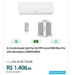 Título do anúncio: Vendas, instalação e manutenção em ar condicionado