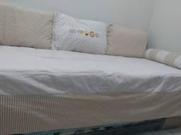 kit cama solteiro, novo