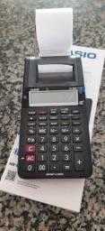 Título do anúncio: Calculadora Casio com bobina 12 digitos HR-8RC-WE