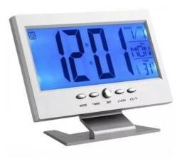 Relógio De Mesa Digital Lelong Le-8107