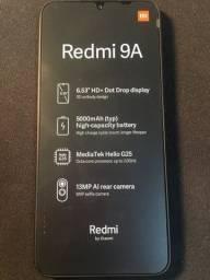 Título do anúncio: Redmi 9A nunca usado