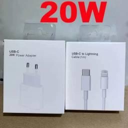 Carregador 20w + Cabo De Usb-c Para Lightning (1 M) Apple