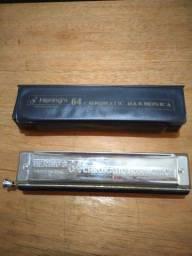 Gaita Hering's 64 chromatic harmonica.