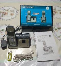 Telefone sem fio Dect 6.0 Digital