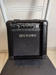 Título do anúncio: Cubo Amplificador Meteoro MG10, com overdrive/distorção, usado (para Guitarras)