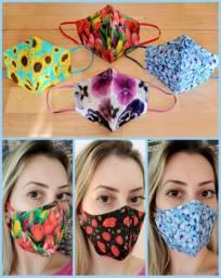 Máscaras Alta Qualidade em Tecidos Importados