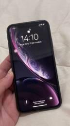 Título do anúncio: IPhone XR 64G, Novíssimo (com caixa, fones, carregador NUNCA USADOS) *LEIA O ANÚNCIO*