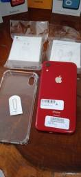 Título do anúncio: iPhone XR 128GB (Product) Red Impecável