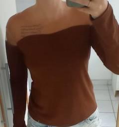 Camisa tule feminina
