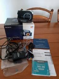 Filmadora Sony hnadycam DCR-DVD 108 usada