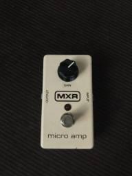 Pedal MXR micro amp (booster) semi-novo