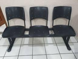 Título do anúncio: Cadeiras longarina