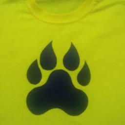 Kit família com 4 camisetas aventureiros