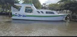 Título do anúncio: Barco aço 33 pés