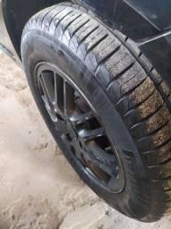 Título do anúncio: Aro 15 Ford pneus novos