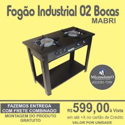 Fogão Industrial 02 Bocas Mabri