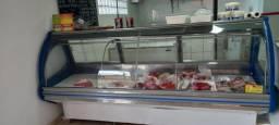 Título do anúncio: Balcão Expositor Refrigerado para Carnes Bebidas Frios Lacticínios