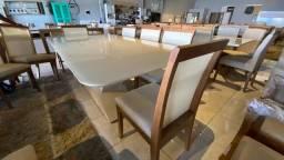 Título do anúncio: Mesa toda de madeira maciça pronta entrega
