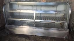 Título do anúncio: Balcão refrigerado expositor de vidro inox