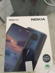 Título do anúncio: Smartphone Nokia 5.4 128GB Azul