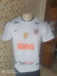 Camisa branca Corinthians