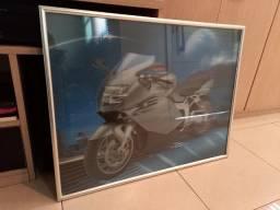 Título do anúncio: Quadro Holográfico 3D - Moto