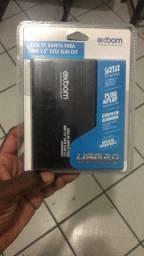 Case pra HD de notebook 50$